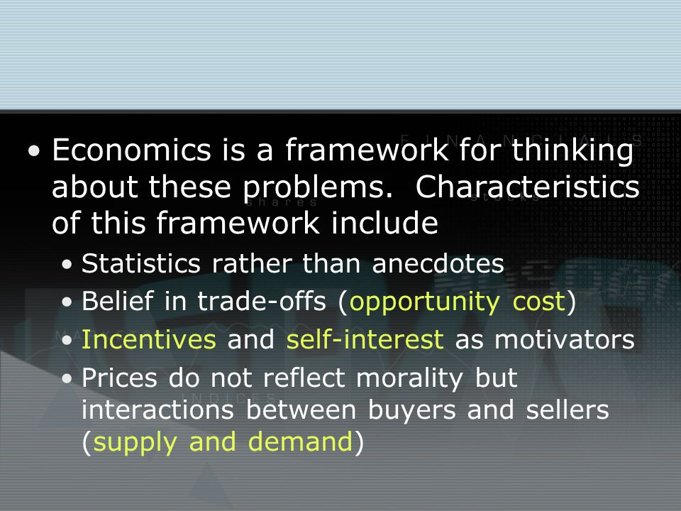 Branches of Economics Microeconomics is the study of how households and firms make decisions in goods, labor, and capital markets and the study of how and why those markets sometimes fail.