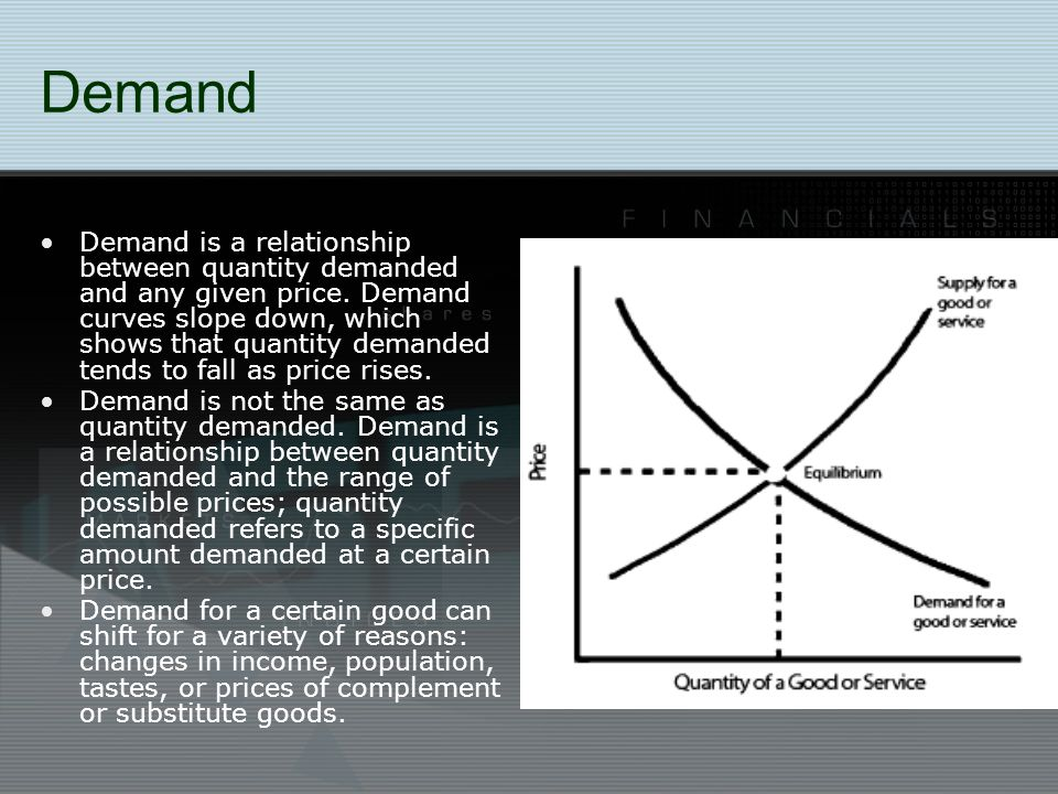 Supply Supply is the relationship between quantity supplied and any given price.
