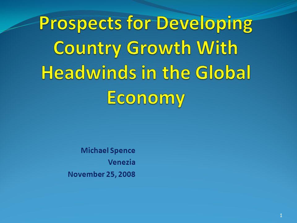 Michael Spence Venezia November 25, 2008 1