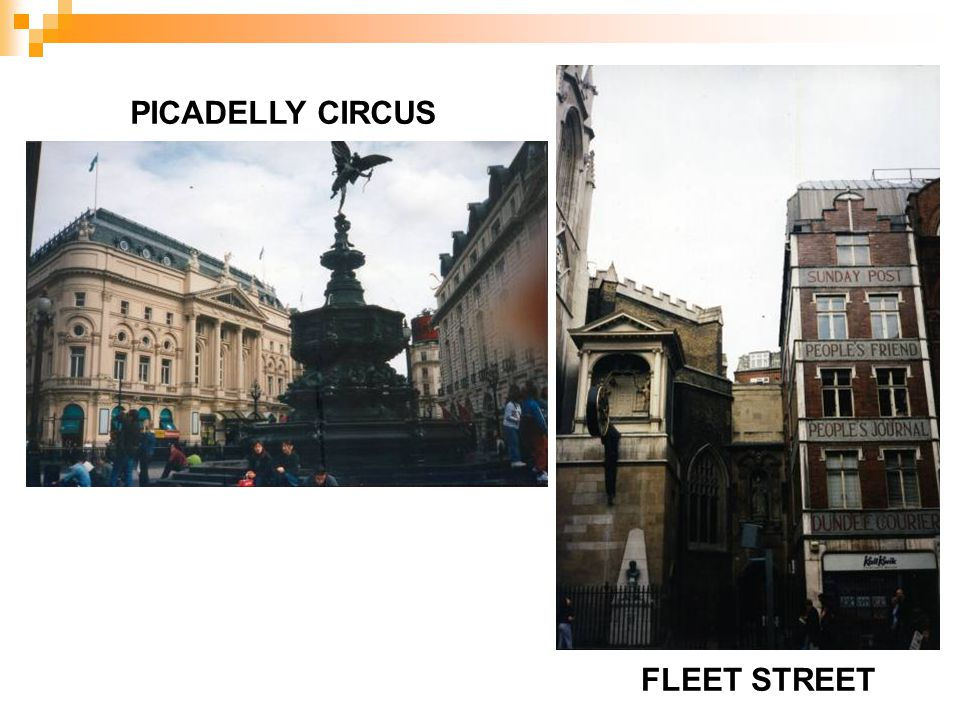 FLEET STREET PICADELLY CIRCUS