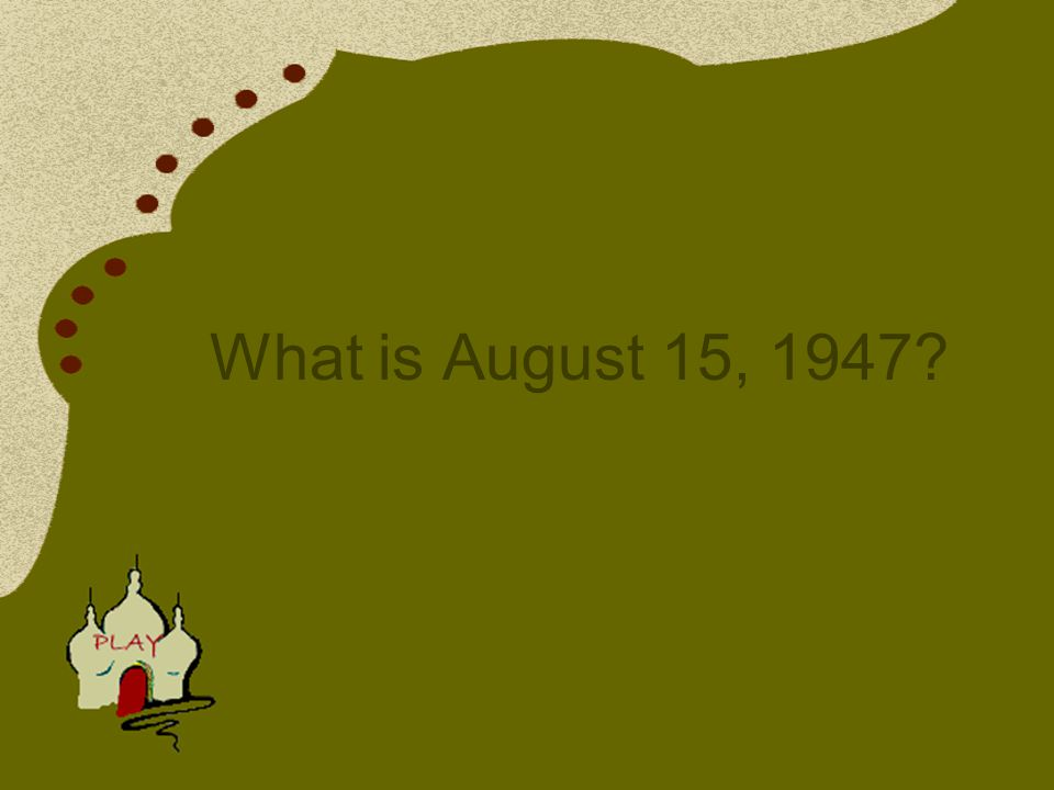 India finally got her independence from the British rule on this day.