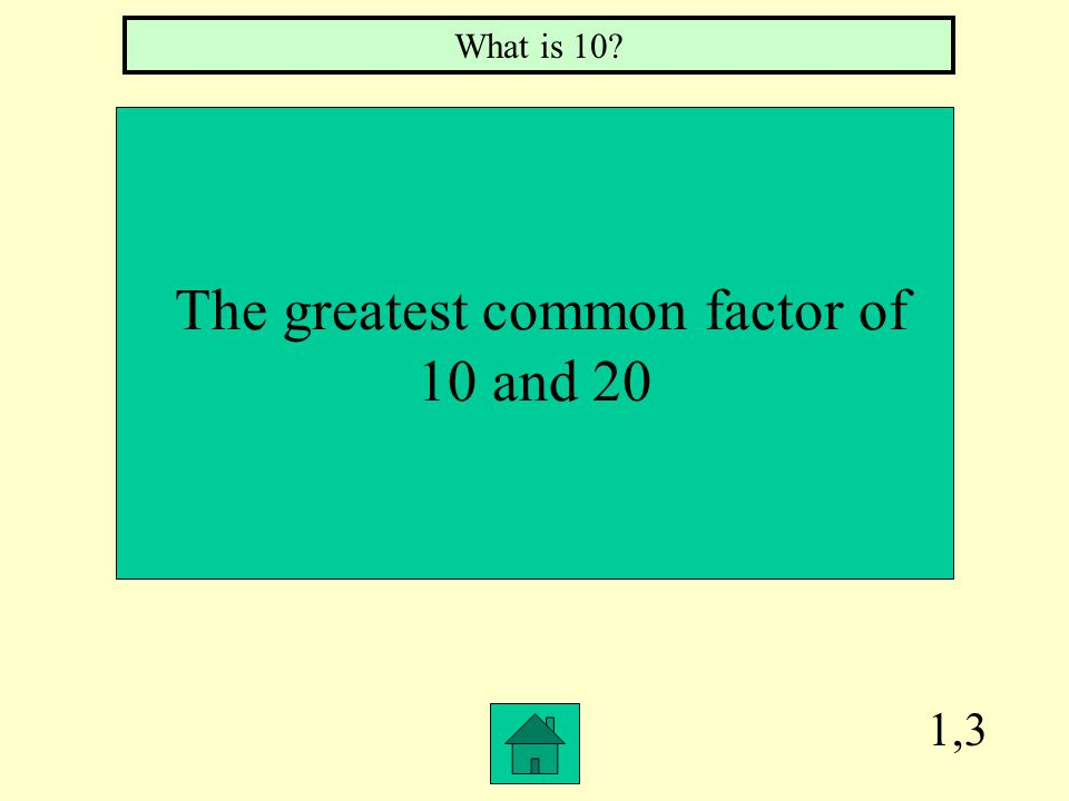 1,2 The prime factorization of 16 What is two to the fourth
