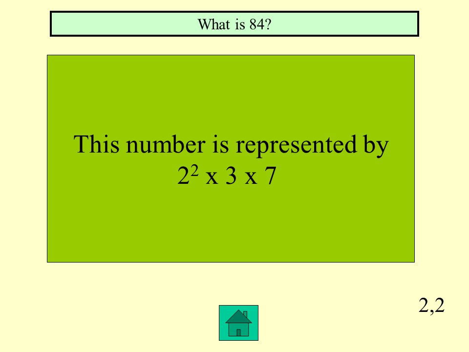 2,1 A number having more than two factors What is a composite number