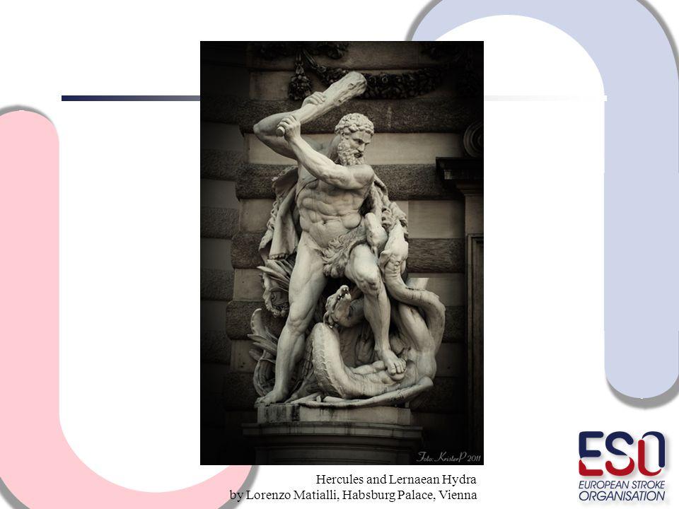 Hercules and Lernaean Hydra by Lorenzo Matialli, Habsburg Palace, Vienna