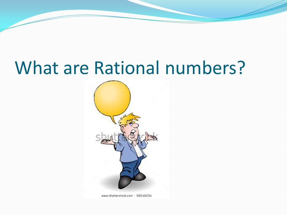 What are Rational numbers