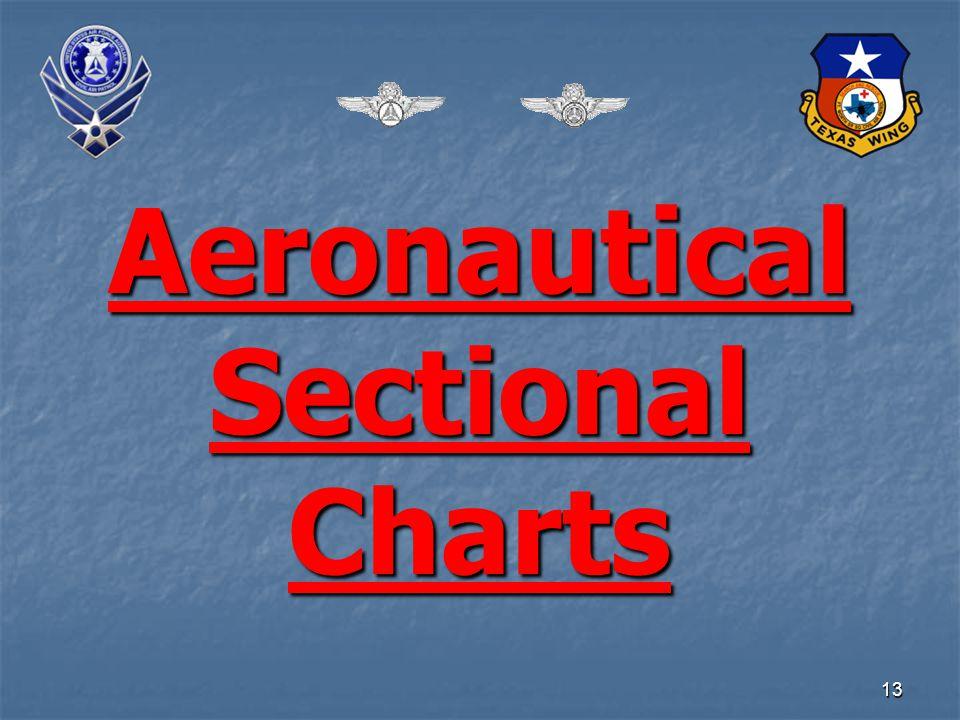 13 Aeronautical Sectional Charts