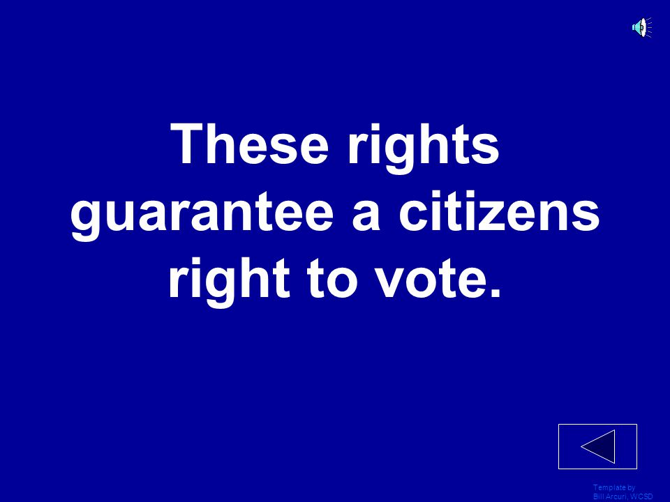 Template by Bill Arcuri, WCSD These rights allow citizens to live in any province they choose.