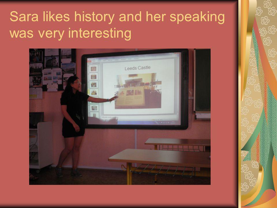 Baruska is talking about fish
