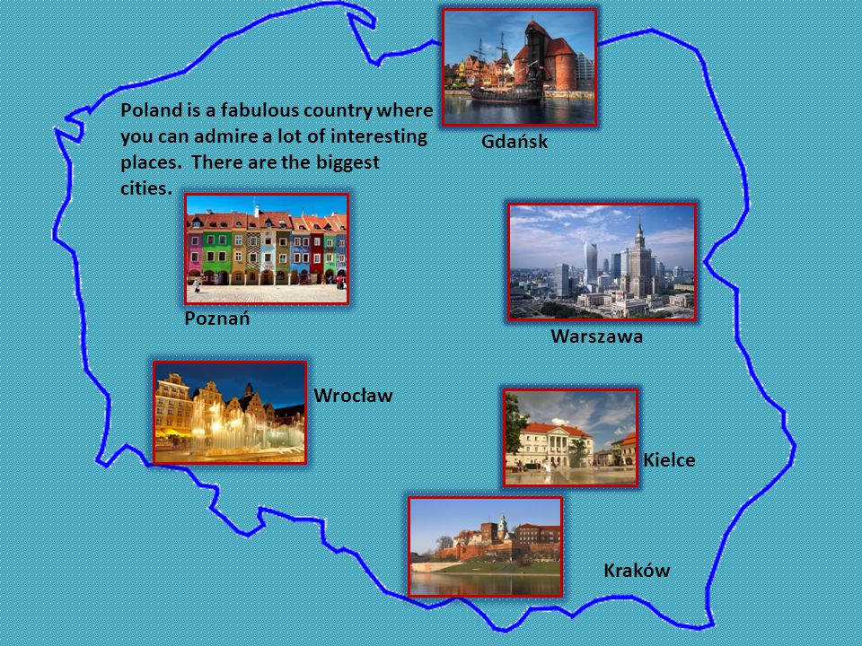 Poland is a fabulous country where you can admire a lot of interesting places.
