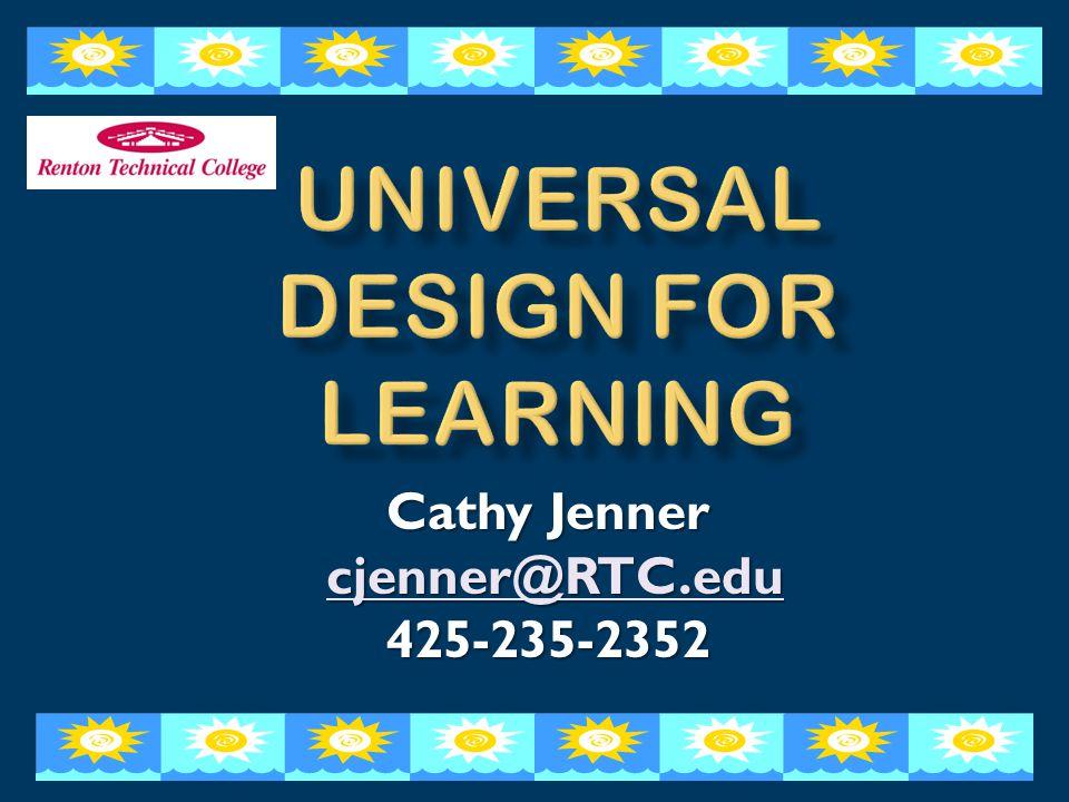Cathy Jenner cjenner@RTC.edu cjenner@RTC.educjenner@RTC.edu 425-235-2352