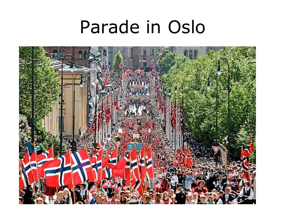 Parade in Oslo