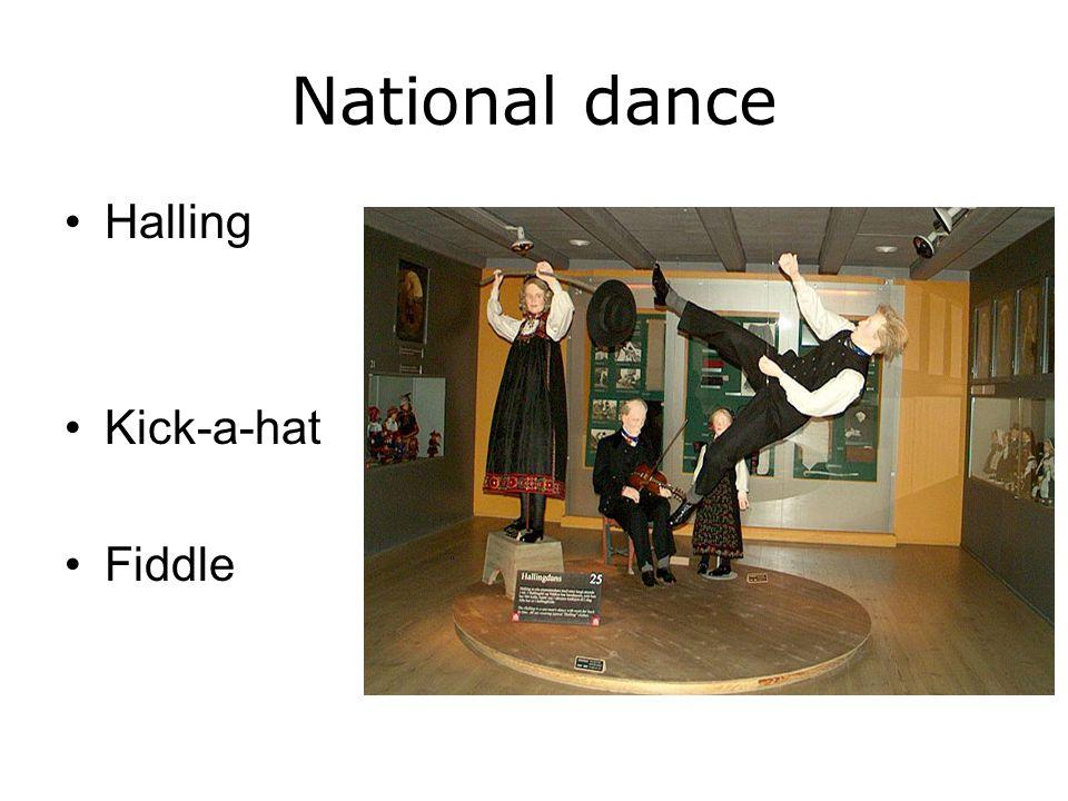 National dance Halling Kick-a-hat Fiddle