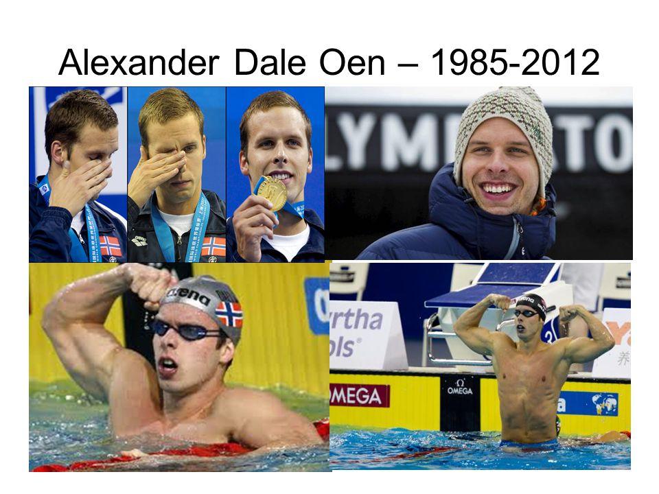 Alexander Dale Oen – 1985-2012