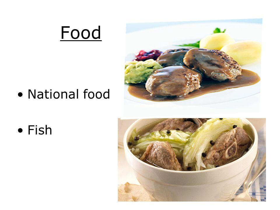 Food National food Fish