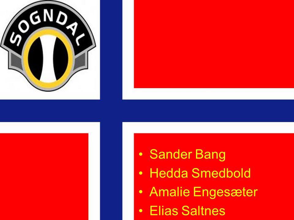 Sander Bang Hedda Smedbold Amalie Engesæter Elias Saltnes