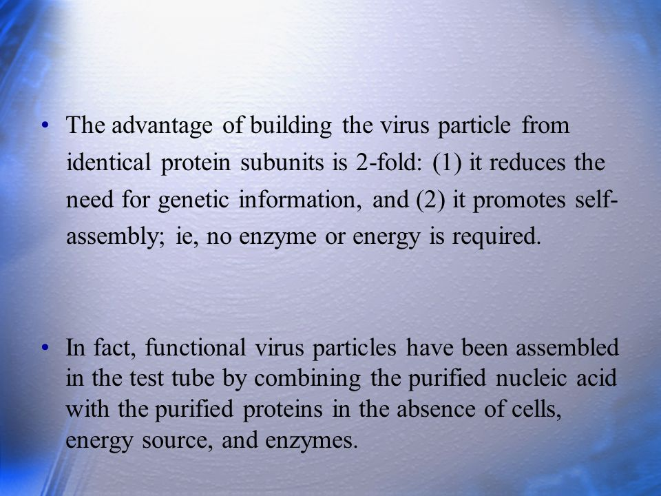 VIRAL PROTEINS Viral proteins serve several important functions.