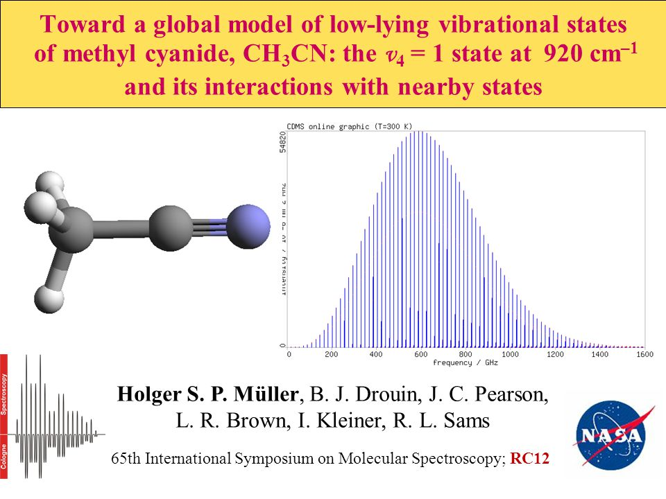 Toward a global model of low-lying vibrational states of methyl cyanide, CH 3 CN: the v 4 = 1 state at 920 cm –1 and its interactions with nearby stat