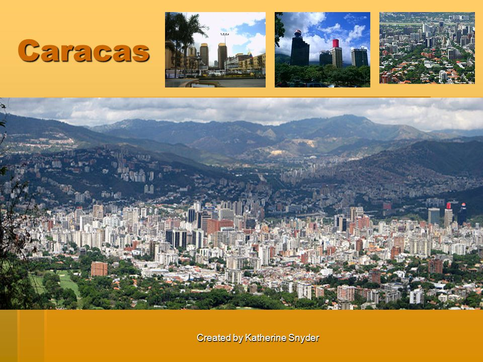 Created by Katherine Snyder Caracas