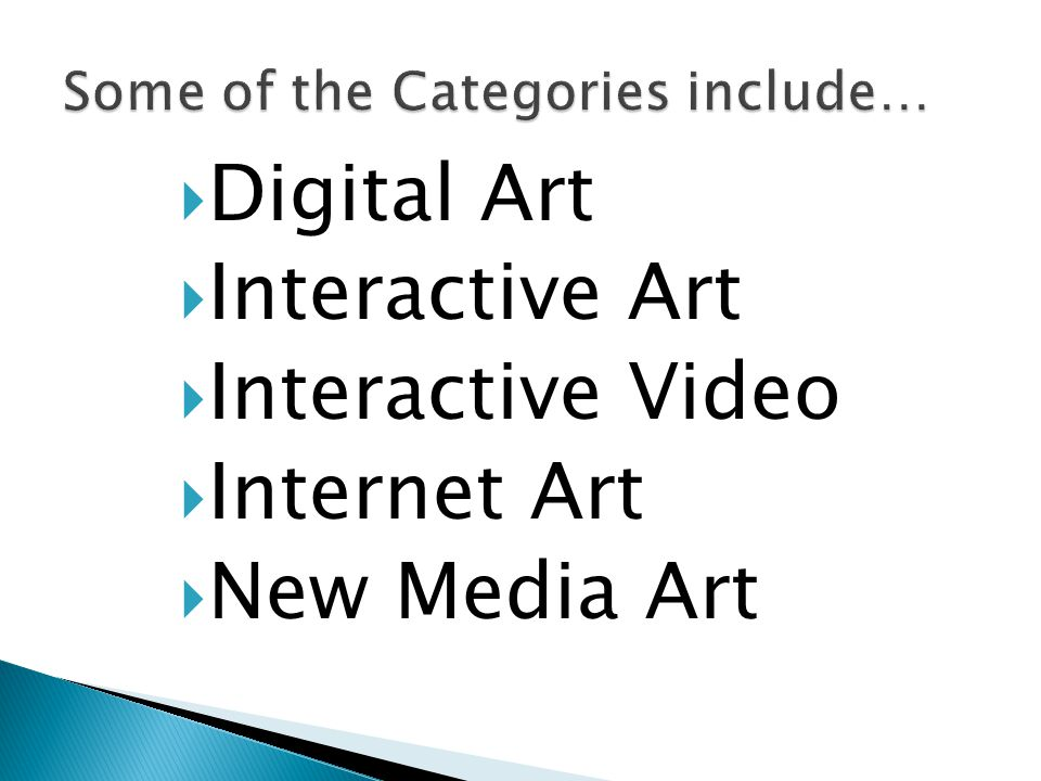  Digital Art  Interactive Art  Interactive Video  Internet Art  New Media Art