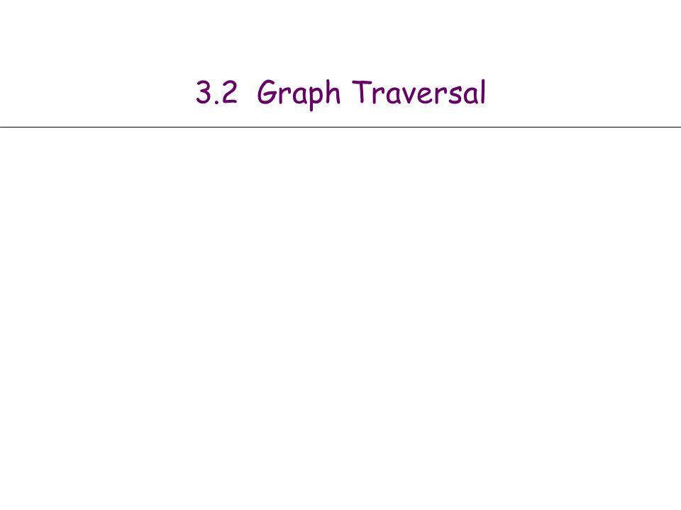 3.2 Graph Traversal