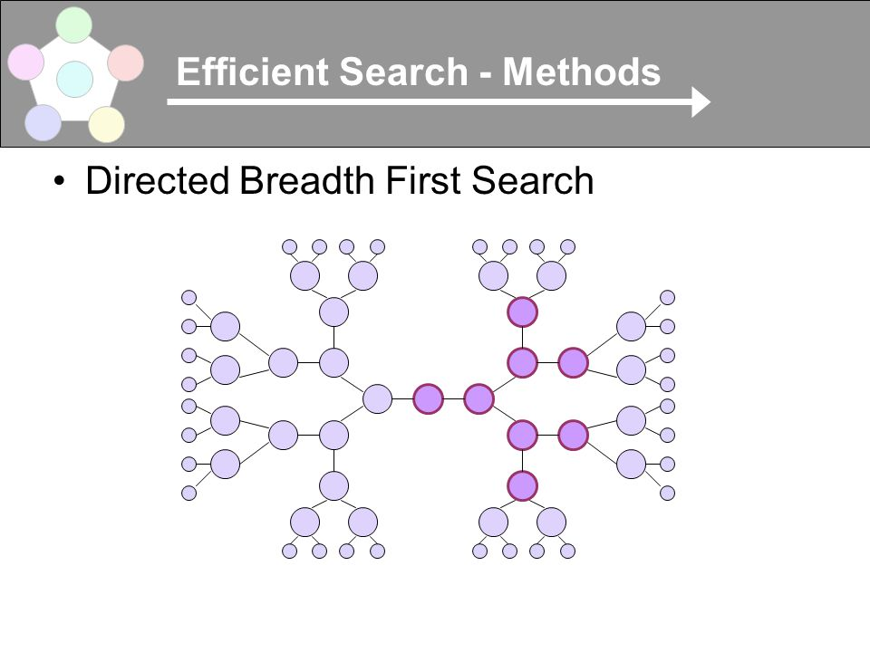 Efficient Search - Methods Directed Breadth First Search