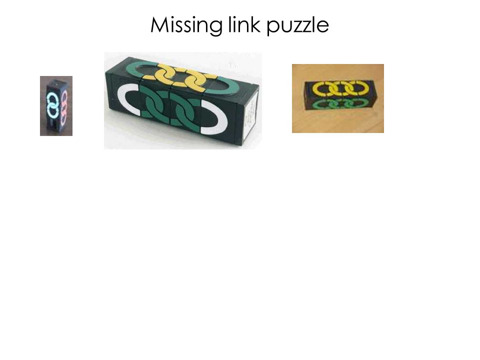 Missing link puzzle