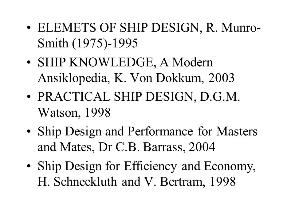 L/D (Watson, 1998) In deadweight carriers, stability is generally in excess of rule requirements and depth and breadth are therefore independent variables.