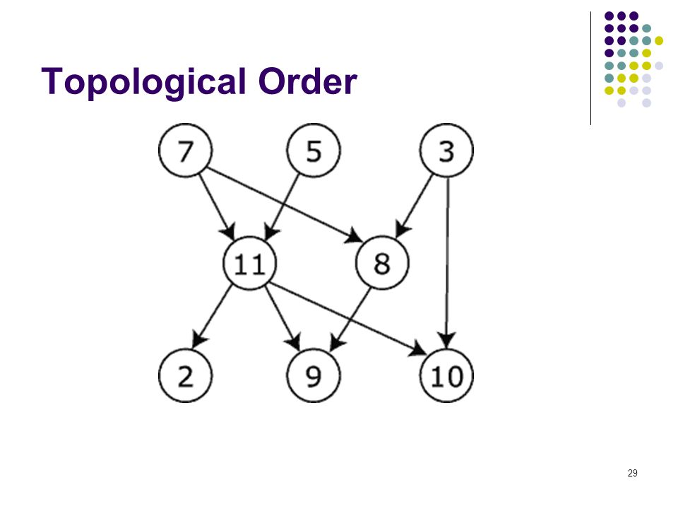 29 Topological Order