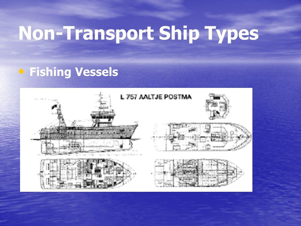 Non-Transport Ship Types Fishing Vessels