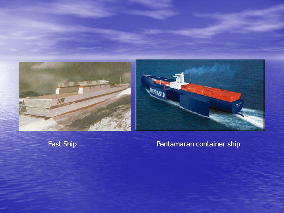 Fast Ship Pentamaran container ship
