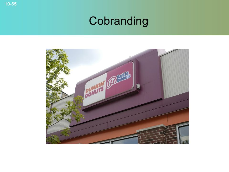 10-35 Cobranding © 2007 McGraw-Hill Companies, Inc., McGraw-Hill/Irwin