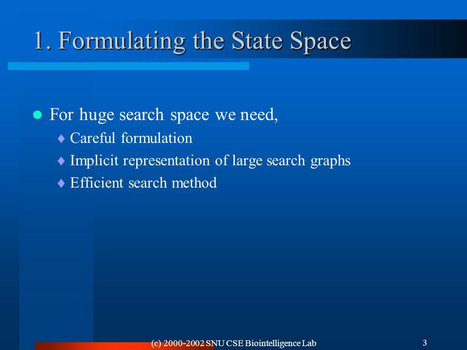 (c) 2000-2002 SNU CSE Biointelligence Lab 3 1.