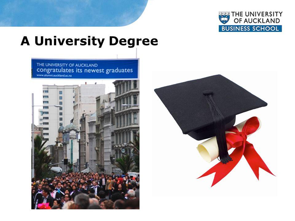 A University Degree