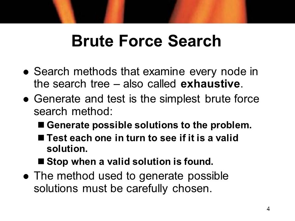 5 Depth-First Search l An exhaustive search method.