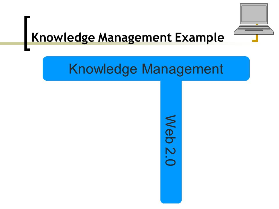 Knowledge Management Example Knowledge Management Web 2.0
