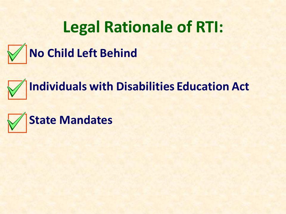 Legal & Empirical Foundations