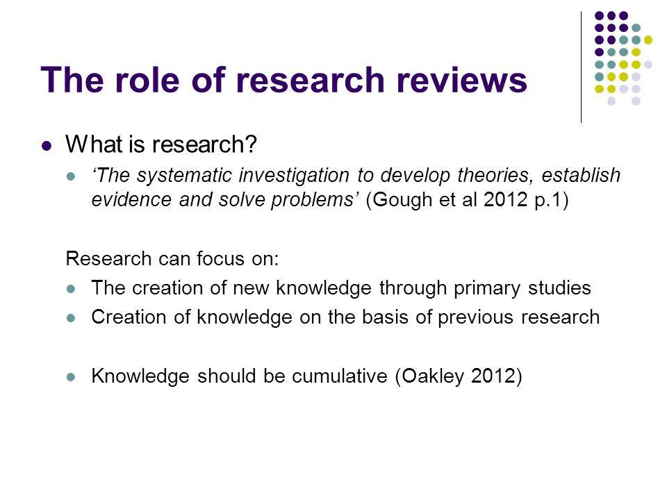 Masters dissertation literature review