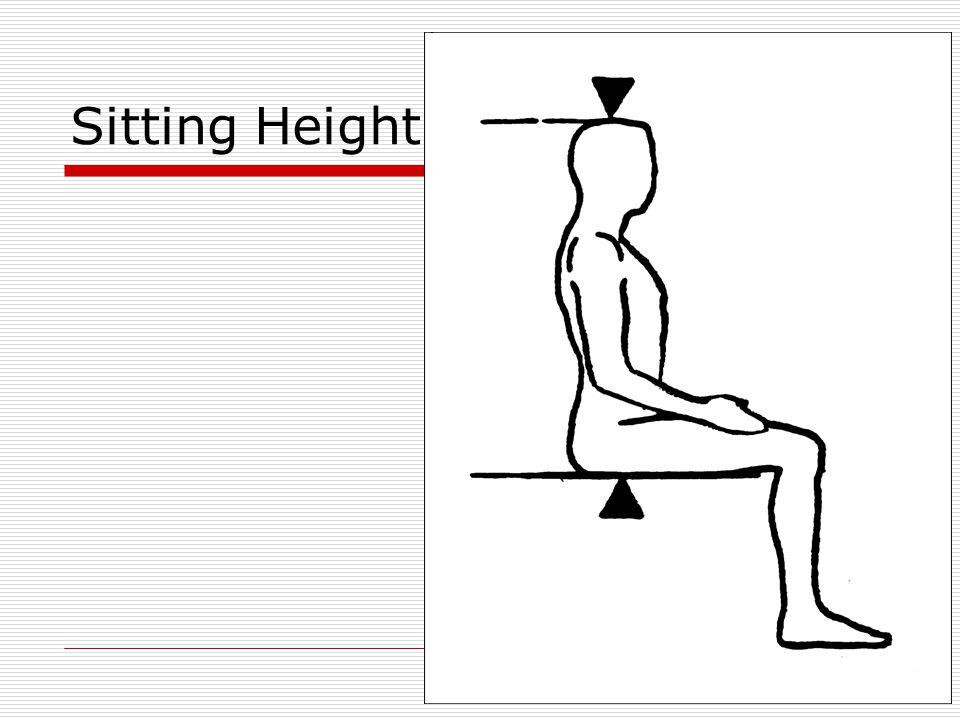 Sitting Height