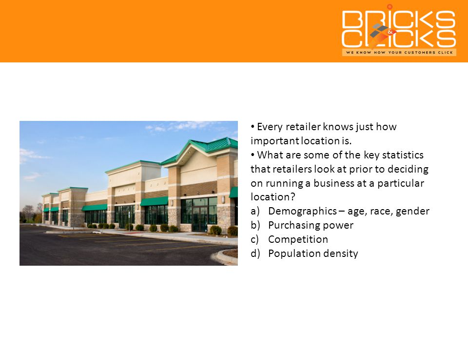 Every retailer knows just how important location is.