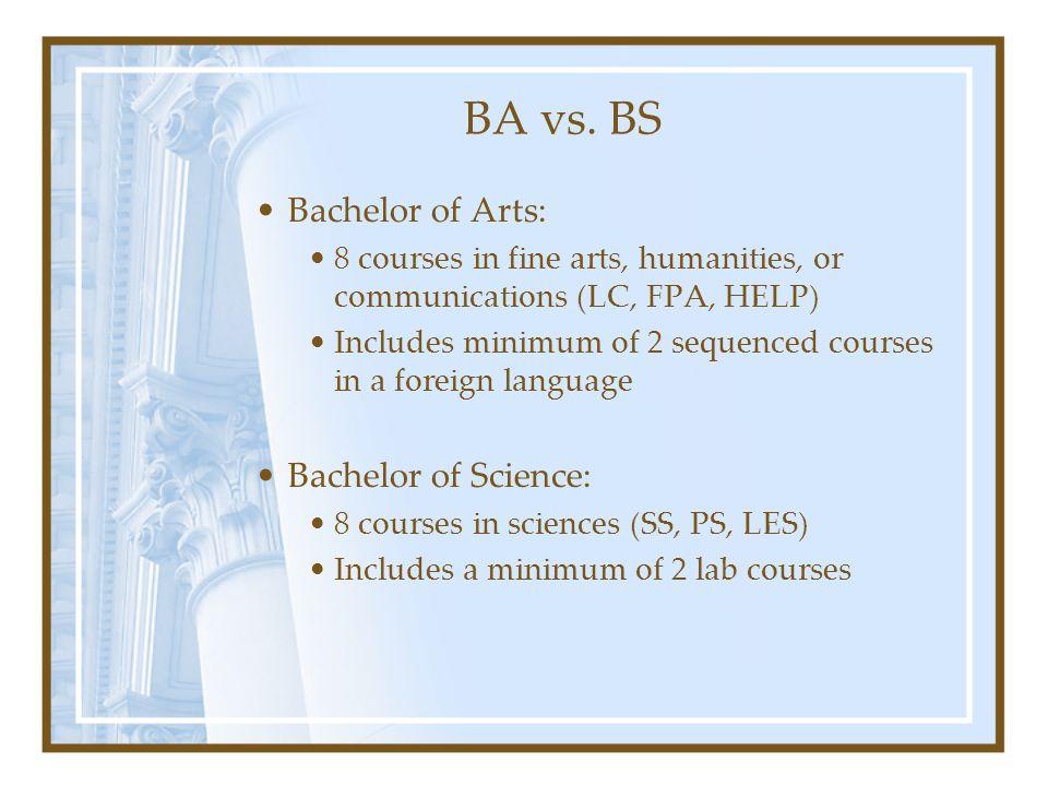 BA vs.