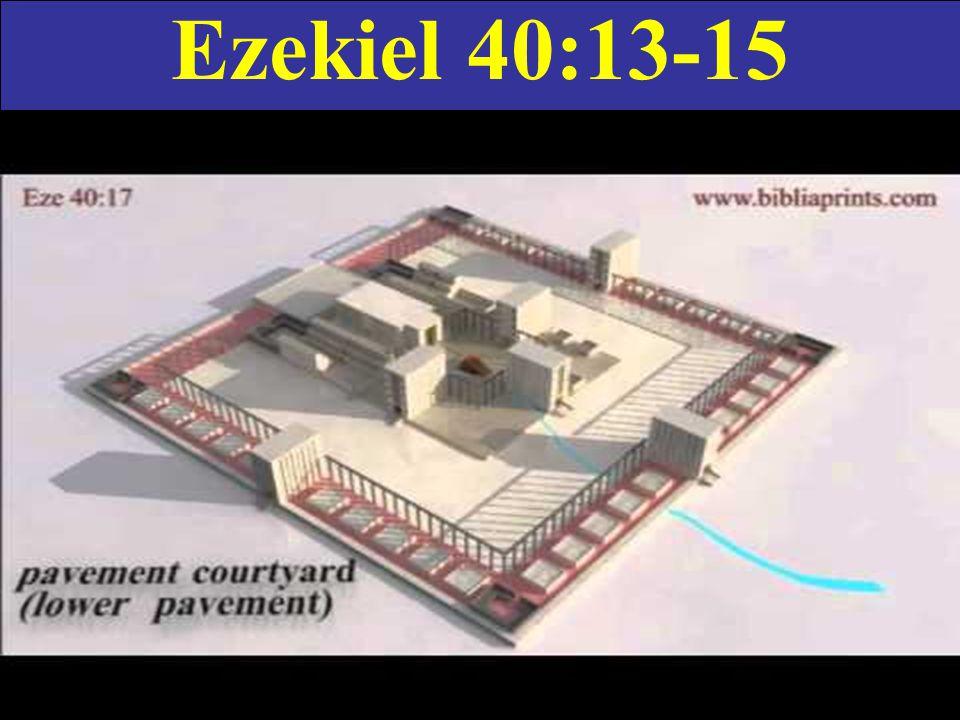 Ezekiel 40:13-15
