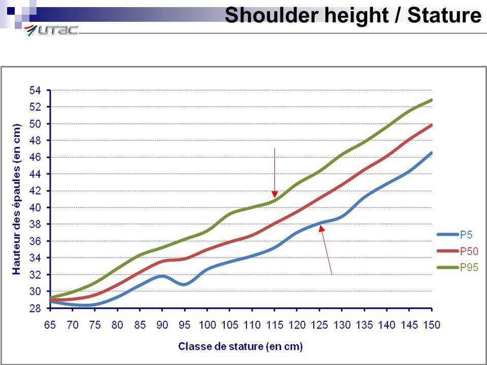 Shoulder height / Stature