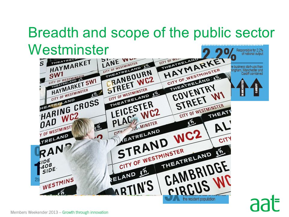 Breadth and scope of the public sector - Westminster Total General Fund Income 2012/13 £880m