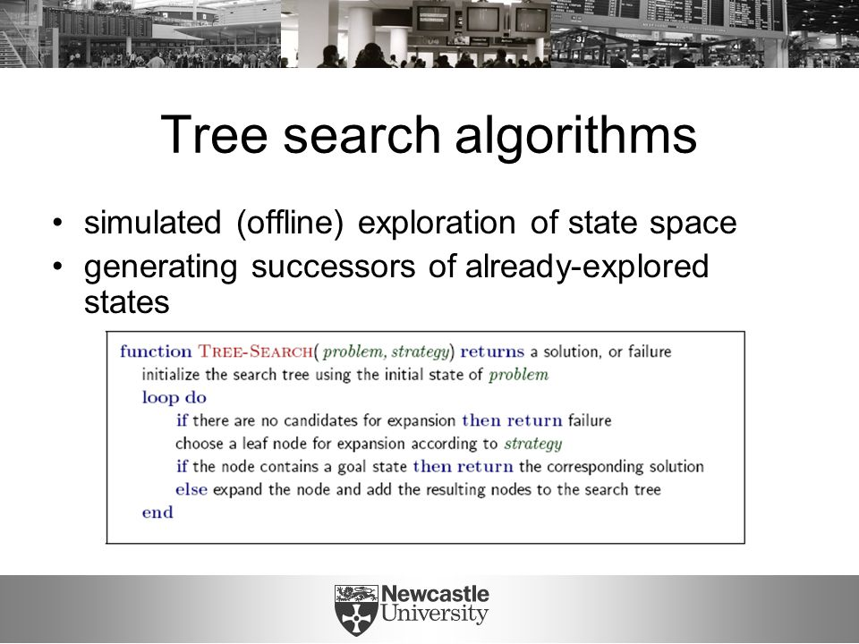 Tree search: implementation
