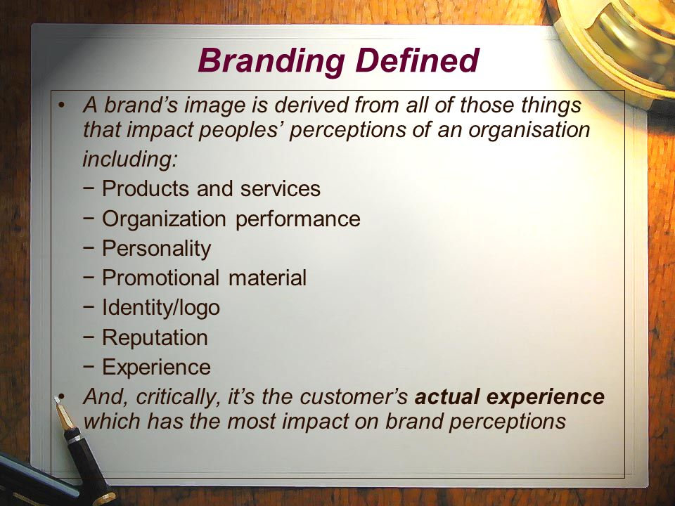 Ingredients of successful branding Relevance – What makes the universities or colleges offerings relevant to key customers and audiences.