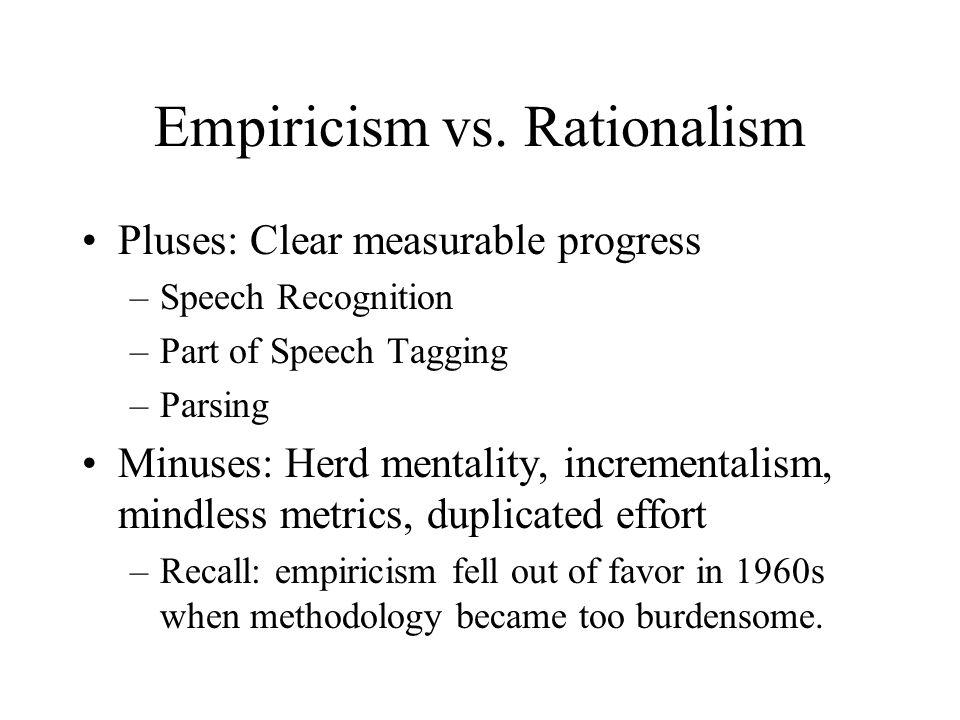 Empiricism vs.