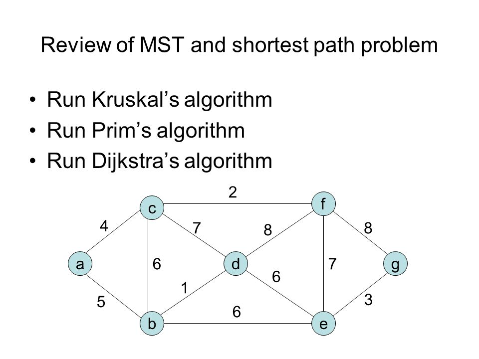 Another Algorithm Store vertices in a priority min-queue, with the in-degree of the vertex as the key While queue is not empty Extract minimum vertex v, and give it next number Decrease keys of all adjacent vertices by 1 3 3 5 5 6 6 4 4 2 2 7 7 9 9 8 8 1 1 0 2 2 1 1 3 1 1 0 1 2 0 0 0 1 0 0 0 1 0