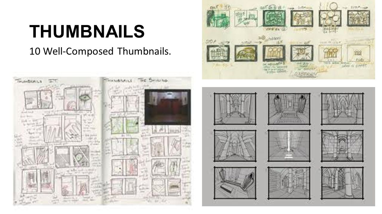 THUMBNAILS 10 Well-Composed Thumbnails.
