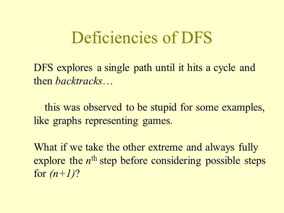 BFS and trees Like DFS this can be thought of as inducing a tree (with edges from any node u to each other node v which it enqueues)