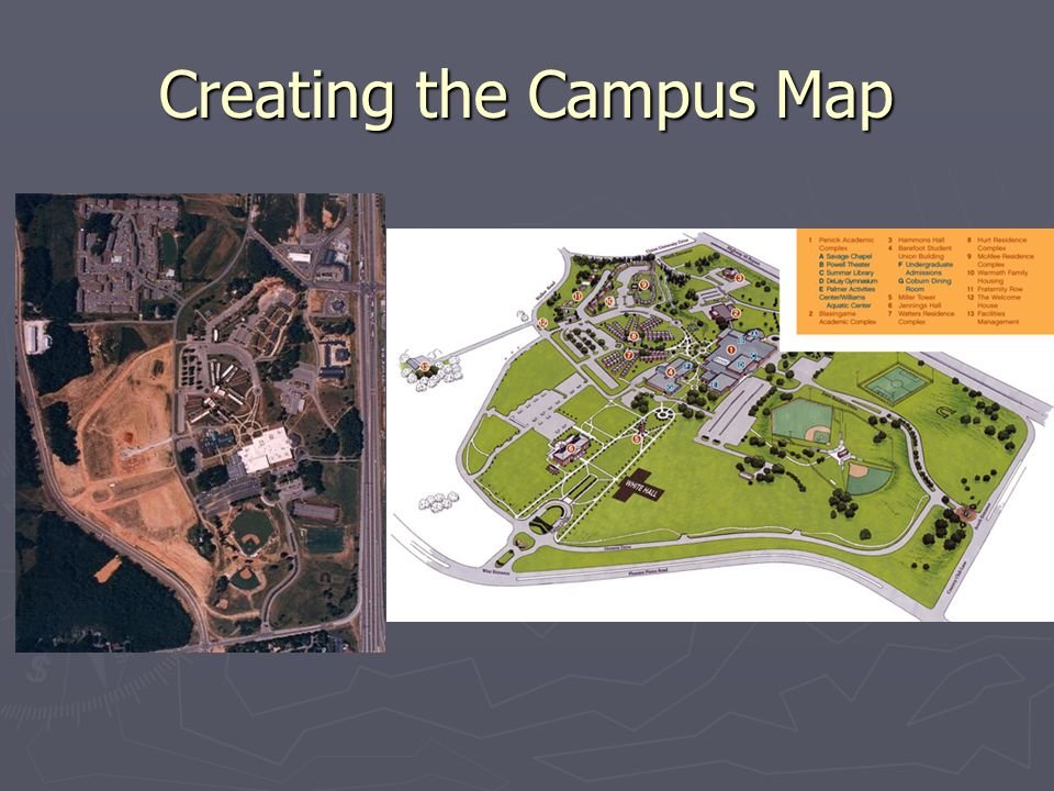 Creating the Campus Map